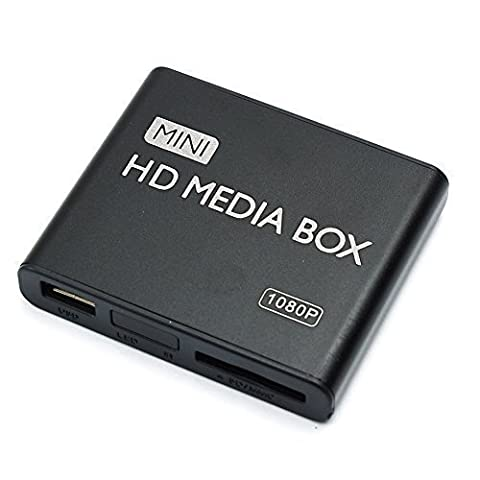 MP power @ Mini Digital Medienspieler Media Player Full-HD 1080P