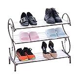 LiSun Schuhregal Schlafsaal spart Platz staubdicht einfaches Zuhause kleine Eingangstür Kleiner Shop mit Schmiedeeisen Schuhschrank