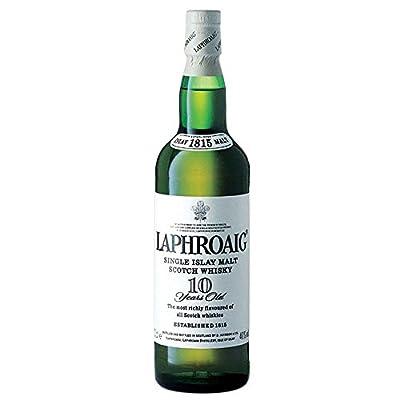 Laphroaig 10 Year Old Single Malt Scotch Whisky 70cl Bottle