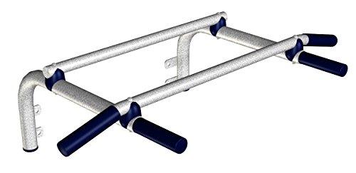 Barre de traction à fixation murale-menton traction support en fer pour intérieur de musculation (support mural)