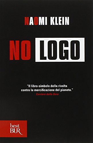 naomi klein no logo essay When i picked up no logo for the first time little did i know i was in possession of the bible of anti globalization this book is ruthlessly researched with similarly unforgiving analyse no logo is about the impact super brands has on broader society the separation of brand and product klein.