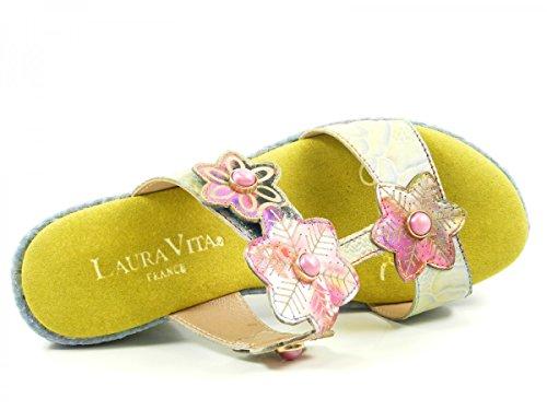 Laura Vita SL3036-4A Beaute 04 Zoccoli donna Gelb