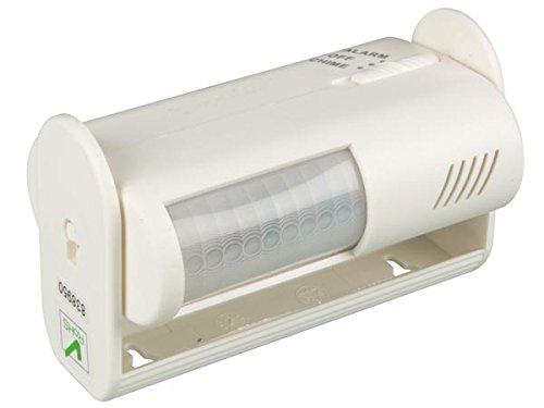 Velleman HAM1011 Mini-IR-Bewegungsmelder 60° 9VDC Alarm/Glocke umschaltbar, Weiß