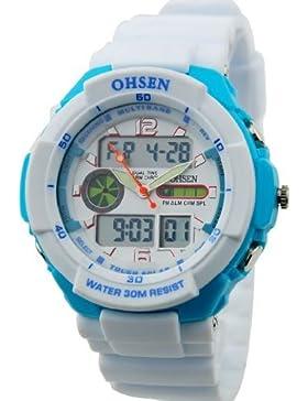 Orrorr M??nner Dive Sport leuchtende Uhr OSHEN Marke 2013 neue Ankunfts- Wei?? Farbe