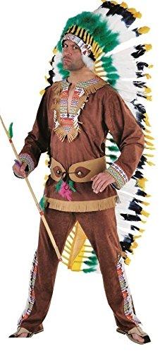 M213236-XS-A braun Herren Indianerkostüm Apachekostüm - Sexy Cow Girl Kostüm
