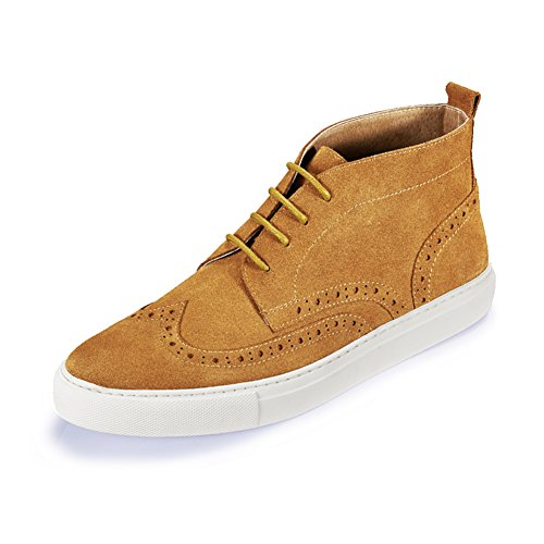 Zapatos de lona ocasionales de los hombres de verano/Zapatos/Versión coreana de pedal zapato-A Longitud del pie=24.3CM(9.6Inch) SNWcVTN3ft