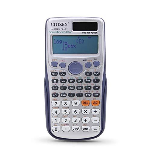 HCCX Calculadora Científica FX-991Es Plus No De Doble Potencia con  Funciones 417 Calculadora De Examen De Estudiante De Dual Power Calculadora