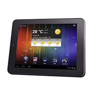 Intenso Tab 804 20,3 cm (8 Zoll) Tablet-PC (Cortex A8, 1GHz, 1GB RAM, 8GB HDD, WiFi, WLAN, Full-HD, micro USB, Android) schwarz