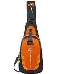 Yangtze Waterproof Scratch Sling Bag Crossbody Chest Pack Sport Outdoor Shoulder Backpack For Men And Women (2...