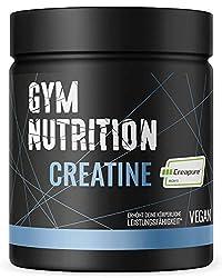KREATIN CREAPURE Monohydrat Pulver 500g reines Kreatin Monohydrat Pulver für Bodybuilder und Sportler mit 99,99% Reinheit Vegan, Halal und hergestellt in Deutschland