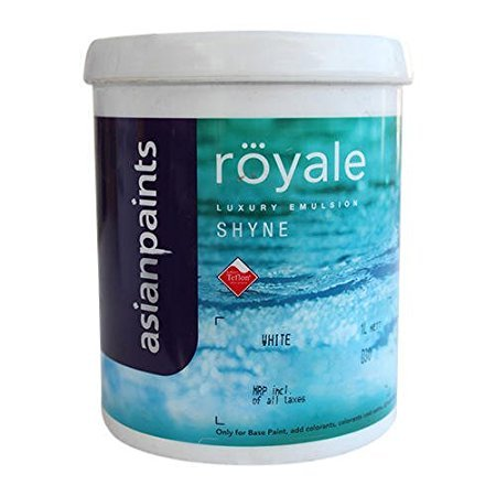 Asian Paints Royale In Blue Colour With Wight (20,10,4) Ltr (4)