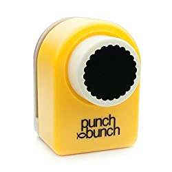 Punch Bunch Medium Punch, Scalloped Circle, 24mm