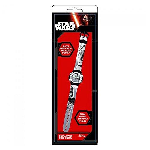 Kids licensingSWE70221 - Reloj Digital Storm Trooper,Star Wars VII