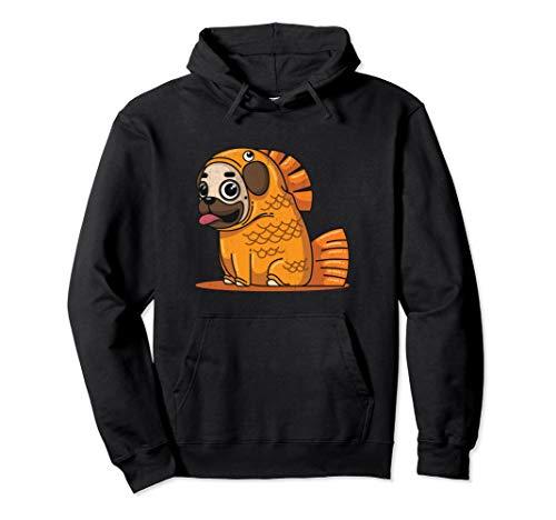 Besitzer Und Hunde Kostüm - Lustiges Mops Goldfisch Kostüm Hund Welpen Liebhaber Jungen  Pullover Hoodie