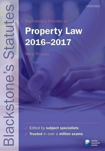 Blackstones-Statutes-on-Property-Law-2016-2017-Blackstones-Statute-Series