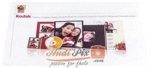 1x500 Kodak Kiosk Bildertaschen 15x20 + CD-Slot Kodak-cd