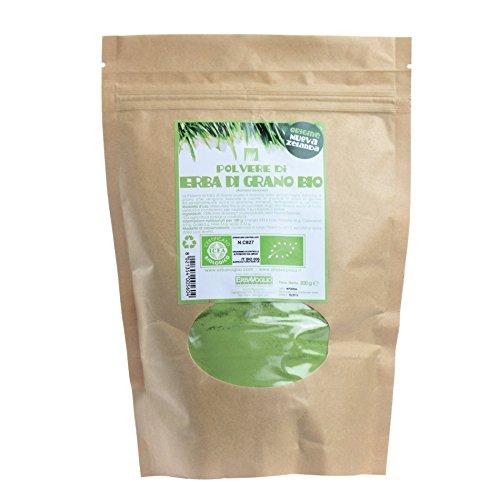 Erbavoglio Erba di Grano Polvere Nuova Zelanda Organico - 200 gr