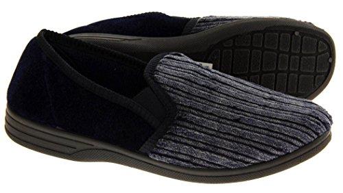 Footwear Studio , Herren Hausschuhe Blau blau Blau