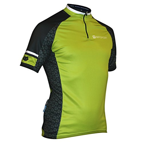 Impsport Nemesis Lime Cycling Jersey