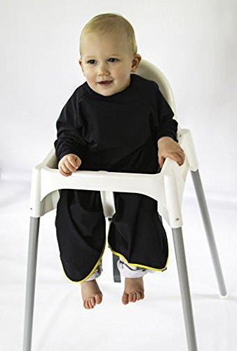 Messy Little Thing langärmelige entwöhnen Baby/Kleinkind Lätzchen. Wasserabweisend, engen Manschetten mit gratis Reisetasche