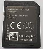 Carte SD GPS MERCEDES GARMIN MAP PILOT Europe 2020 - STAR1 - v14 - A2189065703