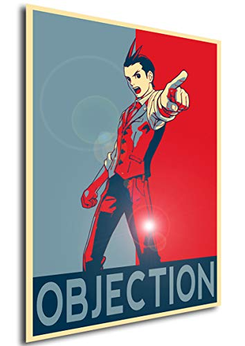 Instabuy Poster - Propaganda - Ace Attorney - Apollo Justice Objection Variant A3 42x30