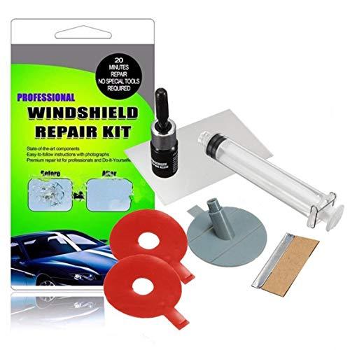 Windschutzscheibe Reparatursätze DIY Auto-Fenster-Glas-Scratches Wiederherstellungs-Tool Windschutzscheibe Polier Reparatur-Werkzeug-Set für Chips Risse