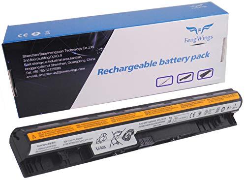 FengWings 14.4V 2600mAh L12L4E01 L12S4E01 L12L4A02 L12M4A02 L12M4E01 L12S4A02 Batería del Ordenador portátil para Lenovo G400s G410s G500s G510s G40 G50 Z40-70 Z50 Z710 G500s Z50-70