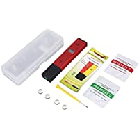 Carta Color 2 Paquetes de 80 Tiras Reactivas Medidor pH Escala de 1-14 Test