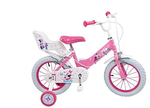 """Toimsa 611 - Minnie, Bicicletta per bambina, dimensioni 12"""", da 3 a 5 anni"""