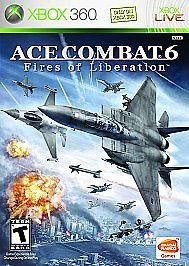 Xbox 360 Ace Combat 6: Fires of Liberation - BRAND NEW SEALED (FREE SHIPPING) (John Deere Monitor)
