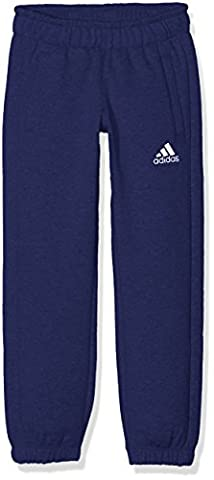 adidas Core 15 Pantalon de survêtement Garçon Bleu Foncé/Blanc FR : Taille 152 cm (Taille Fabricant : Taille 152 cm)_908