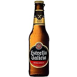 Cerveza Estrella Galicia Sin Gluten - 24Unidades de 33Cl (Especial Celíacos)