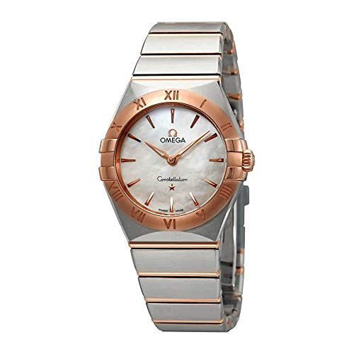 Omega Constellation Manhattan 131.20.28.60.05.001 - Orologio da donna con quadrante in madreperla