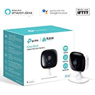 TP-Link Security Camera, Indoor CCTV, No Hub Required, Works with Alexa(Echo Spot/Show and Fire TV), Google Home/Chromecast and IFTTT, 1080p, 2-Way Audio with Night Vision for Baby/Elder/Pet