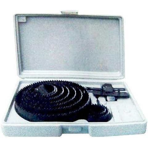 MWS224 - Juego de sierre perforadora (16 piezas)