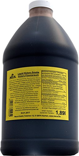 Liquid Hickory Smoke - Flüssigrauch mit Hickory Aroma, 1,89 l