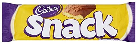 Cadbury Snack Chocolate Covered Shortcake Biscuit 43 g (Pack of 36)