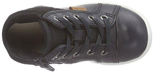 Ecco FIRST Baby Jungen Krabbelschuhe & Puschen Sneaker Schwarz (51052black/black)