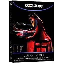 COOLTUREBOX - Caja Regalo - CLÁSICA Y ÓPERA - Entradas para 2 personas más 2 noches de hotel