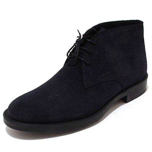 4316P polacchino ANTICA CUOIERIA blu scarpa uomo shoe men [46]