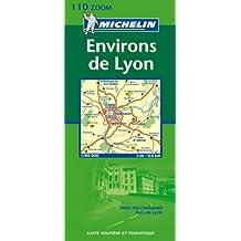 Zoomkarte Environs Lyon (Michelin Zoomkarte)