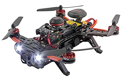 XciteRC 15003760 FPV Quadcopter or Drone Runner, 250 Advance RTF with HD Camera, GPS from XciteRC