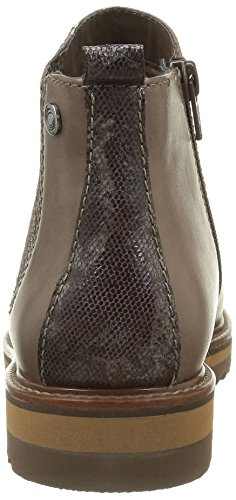 Be Natural 25405, Bottes Chelsea Femme Beige (Taupe 341)