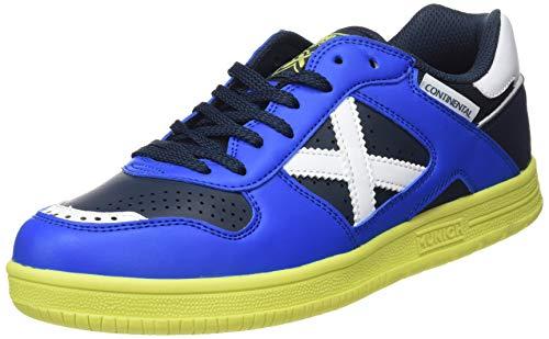 Munich Continental V2, Scarpe da Fitness Unisex-Adulto, Blu (Azul/Negro 884), 43 EU