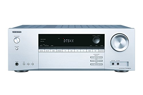 ONKYO TX-NR474 5.1channels Surround 3D Silver AV receiver - AV receivers (5.1 channels, Surround, 135 W, 160 W, 85 W, 0.08%), Argento