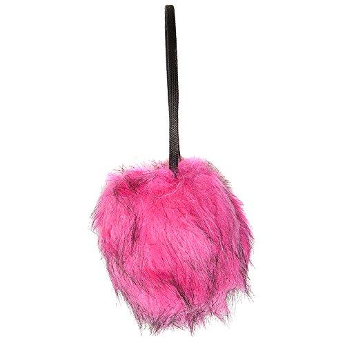 Accessoryo - Frauen rosa Faux Pelz Ohrenschützer