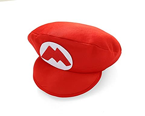 Costumes Enfant Luigi Classique - Casquette en mousse rouge Super Mario