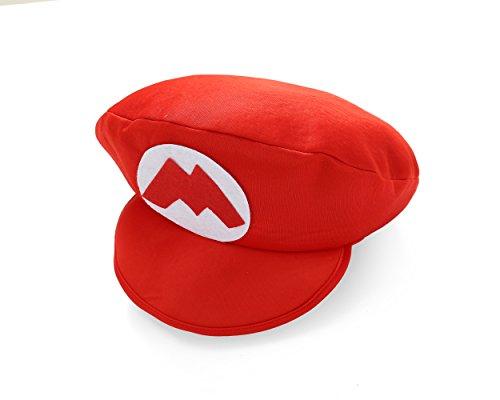 Rote Schaumstoffmütze Karneval (Mario Foam Hat) ()