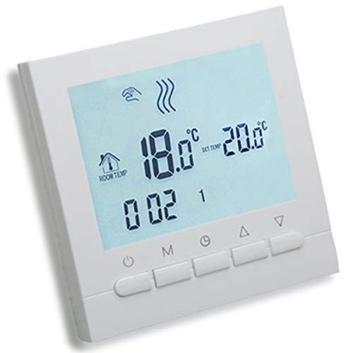 AVStar - Termostato inteligente programable para calefacción de calderas de gas -...